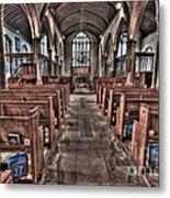 Ancient Lingfield Church Metal Print