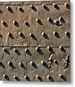 Ancient Metal Fortification Gates Metal Print