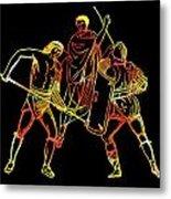 Ancient Roman Gladiators Metal Print