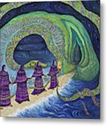 Ancient Serpent Metal Print