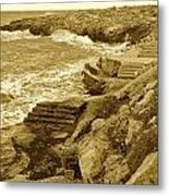 Ancient Steps Of Italy Metal Print