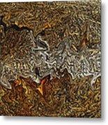 Ancient Wood Metal Print