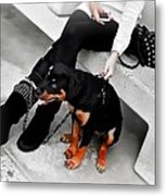 And Here's Me Out With A Supermodel. Metal Print