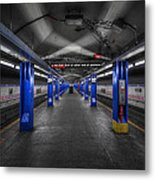 And Then The Silence... Metal Print