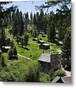 And There You Find Garnet Ghost Town Metal Print