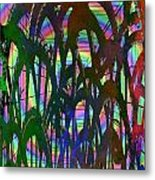 And They All Came Tumbling Down Metal Print