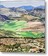 Andalucia Countryside Metal Print