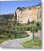 Andalusia Countryside Metal Print