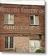 Andalusia Grocery Co Metal Print