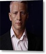 Anderson Hays Cooper - Cnn - Anchor - News Metal Print