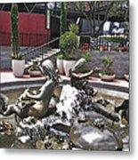 Andrea's Fountain At Ghirardelli Square Metal Print