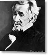 Andrew Jackson, 7th American President Metal Print by Omikron
