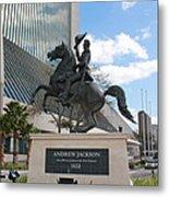 Andrew Jackson Statue Metal Print