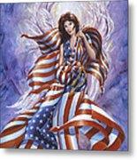 Angel America Metal Print