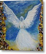 Angel Among Us Metal Print