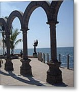 Angel At Puerto Vallarta Metal Print