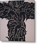 Angel Cross  Metal Print by Lee Thompson