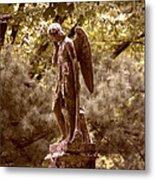 Angel In Tears Metal Print
