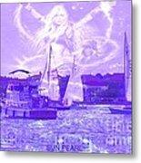 Angel Skies Metal Print