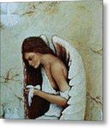 Angel Metal Print by Steven Wood