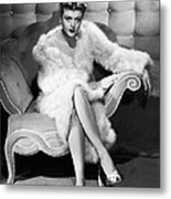Angela Lansbury, 1946 Metal Print