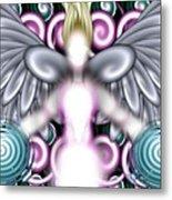 Angelic Flares Metal Print