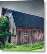 Angelica Barn In Hdr Metal Print