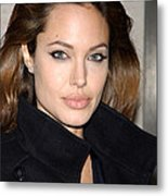 Angelina Jolie At The Special Screening Metal Print