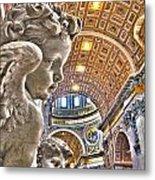Angels At The Vatican Metal Print