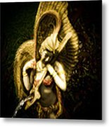 Angels Playing Music  Metal Print