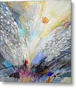 Angels Presence  - Square Painting Metal Print