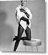 Angie Dickinson, Ca. Early 1960s Metal Print by Everett