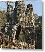 Angkor Archaeological Park II Metal Print
