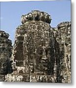 Angkor Thom IIi Metal Print