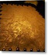 Angled Lamp Metal Print