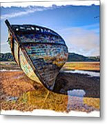 Anglesey Shipwreck Metal Print