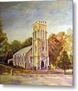 Anglican Church Beechworth  Victoria Metal Print