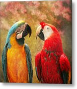 Animal - Parrot - We'll Always Have Parrots Metal Print