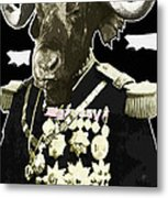 Animal Family 9 General Buffalo Metal Print