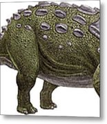 Ankylosaurus Magniventris Metal Print