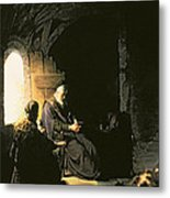 Anna And The Blind Tobit Metal Print