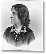 Anna Elizabeth Dickinson Metal Print