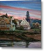 Annisquam River Metal Print by Peter Sit
