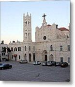Annunciation Latin Church In Beit Jala Metal Print