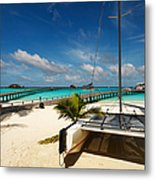 Another Day. Maldives Metal Print