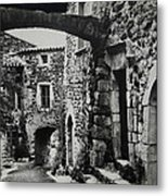 Another Residence In Childhood Alba France Ardeche Metal Print