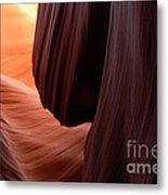 Antelope Canyon Living Rock Metal Print