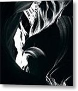 Antelope Canyon Polar Bear Metal Print