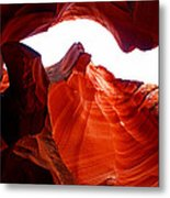 Antelope Canyon Skylight Metal Print