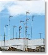 Antenna In The Sky Metal Print